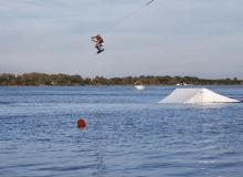 Photos de contest de wakeboard de PHS